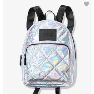 Victoria's Secret PINK Iridescent Backpack
